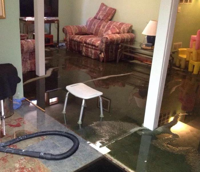 Water Damage Lansing & Holt Residents : We Specialize in Flooded Basement Cleanup and Restoration